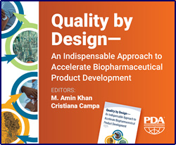 Quality by Design - An Indispensable Approach to Accelerate Biopharmaceutical Product Development (single user digital version)