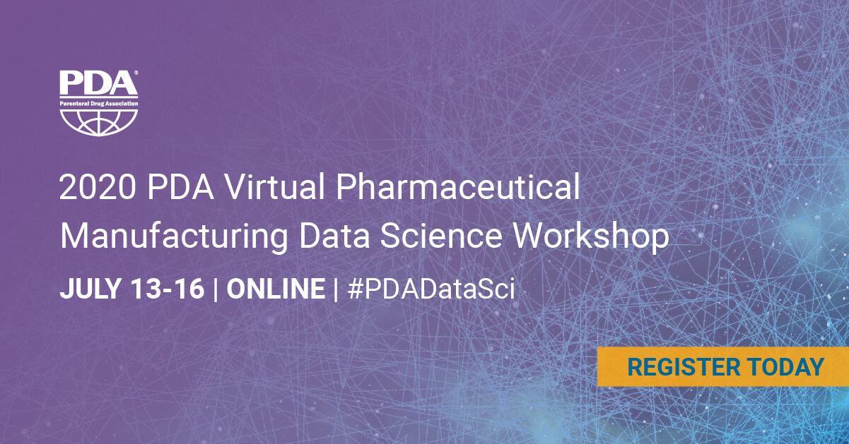2020 Pharmaceutical Manufacturing Data Science Workshop