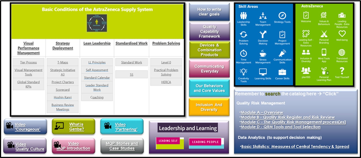 (Simplified) Rapid Access Directory for 10% Learning towards MQP Capability Target Levels