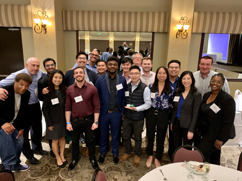 KGI Students lending a hand at a SoCal PDA Event