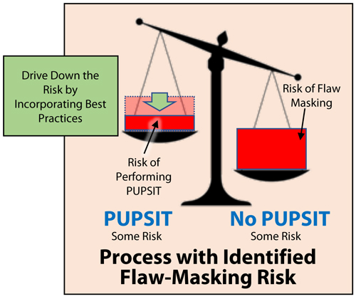 Process with Identified Flaw Masking Risk