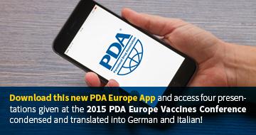 PDA Europe App